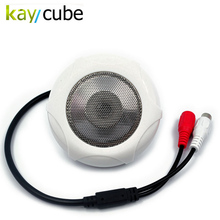 Dolby Noise Reduction Sound Monitor CCTV Microphone Audio Pickup Device High Sensitivity 5-150 Square Meter Monitoring Scope