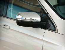 Auto rear view mirror cover cap for Ford EDGE 2015 , abs chrome,auto accessories,free shipping.2pcs
