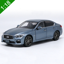 New 1:18 INFINITI SKYLINE 350GT Hybrid Type SP Blue Alloy Diecast Model Toy Car For Kids Gifts Original Box Free Shipping(China)