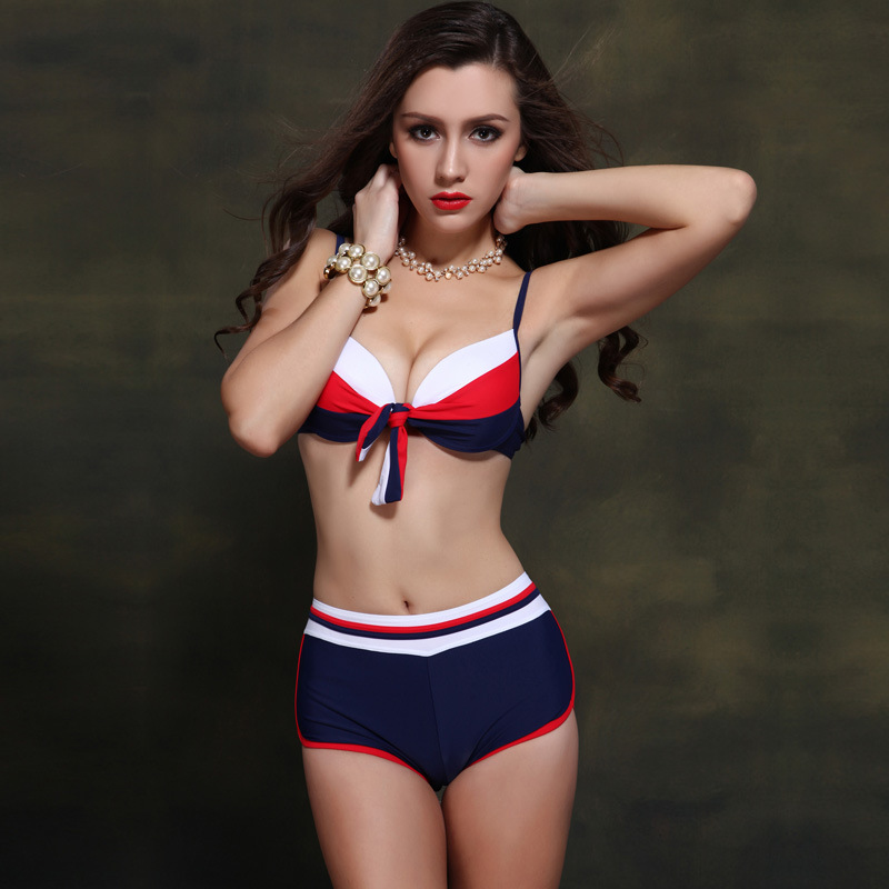 Sexy Bikinis Women Swimsuit Summer Beach Wear Bikini Set Push Up Swimwear Bandage Bathing Suit<br>