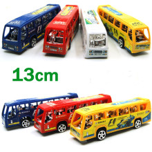 EFHH Plastic Mini School Bus Diecast Car Model Pull Back Toys Children's Gifts New