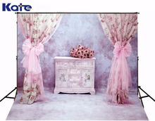 3M*2M(10*6.5 Ft) Kate Gorgeous  Photography Backdrop  Pink  Flower Photography Backgrounds For Wedding  Background