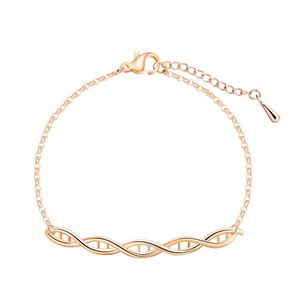 QIAMNI-DNA-Science-Chemistry-Formula-Hormone-Molecule-Geometric-Double-Helix-Chain-Bracelet-Bangle-Christmas-Gift-Love