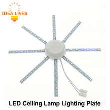 Ceiling Lamp LED Lighting Plate High Brightness 5730 220V Convenient Installation to Replace Efficient Lightbulb.(China)