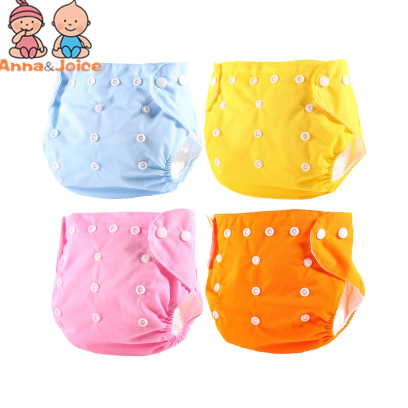 10 Piece Baby Diapers/Children Cloth Diaper/Reusable Nappies/Adjustable Diaper Cover/Washable  for Summer