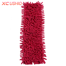 1pc Soft Chenille Cleaning Mop Head Kitchen Bathroom Super-absorbent Microfiber Mop Head Replace Cloth Cleaner(China)