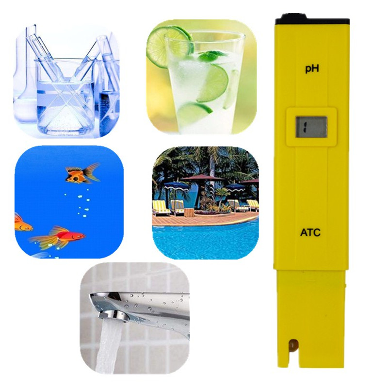 by dhl/fedex 100pcs/lot Portable Pen Water PH Meter Tester for Aquarium Pool Water Quality Laboratory with retail box % off 13