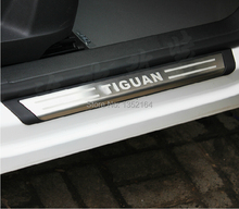 Auto Door sills/sill plate scuff plate for Volkswagen Tiguan 2010-2014, stainless steel,auto accessories,free shipping