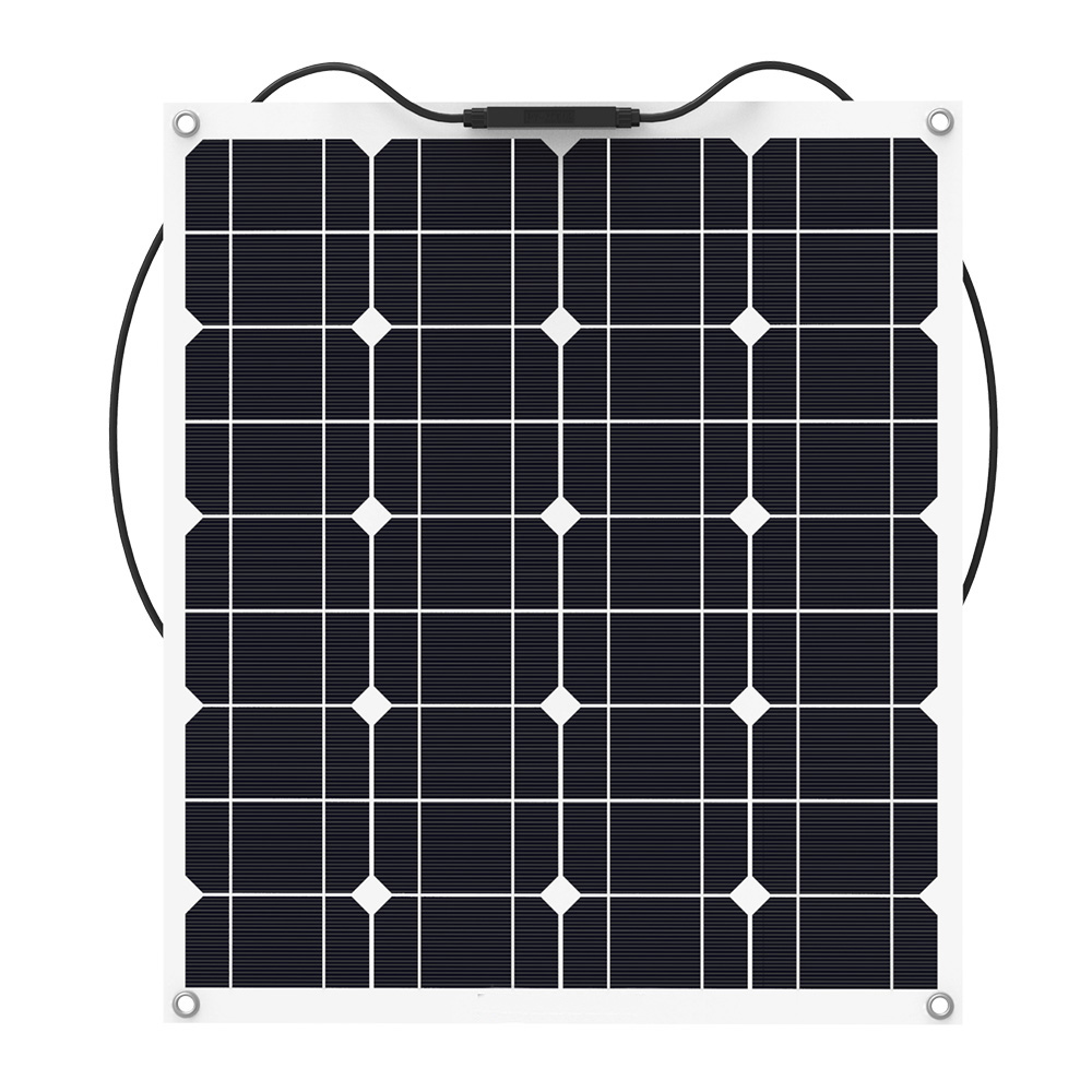 ALLPOWERS-Flexible-50W-Monocrystalline-Solar-Panel-with-MC4-Cable-for-RV-fishing-boat-cabin-tent-yachts