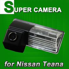 For Sony CCD Nissan Teana Car rear view parking back up reverse car Camera Wireless optional license plate light cam