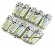 10pcs free shipping 3w 5w G4 led SMD3014 24 48 64LEDS 240V 220V g 4 Spotlight Led lamp Light Downlight Led Bulbs Warm/Cool White(China)