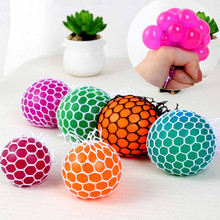 2 Size Optional Decompress Toys Anti Stress Hand Wrist Toy Balls Stress Relief Healthy Venting Ball(China)