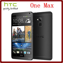 Original Unlocked HTC One Max Quad Core 5.9`` 4.0MP Camera 3G 2GB RAM+32GB ROM 4G 1080P GPS WIFI Smartphone Free Shipping