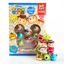 Different Styles Tsum Tsum Toy Story Woody Buzz Lightyear&MikeWazowski Sullivan So Cute Tsum Tsum Stack Action Figures Kids Toys