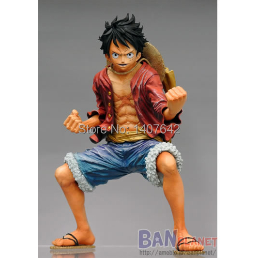 18cm  Luffy  One Piece King of Artist The Monkey Japanese Cartoon Action Toy Figures  Toy for Kids<br><br>Aliexpress
