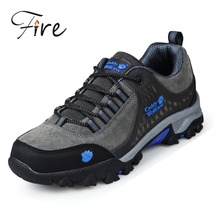 man Outdoor Hiking Shoes spring sneakers Professional Breathable Design men climbing shoes brand genuine leather Sports Shoes