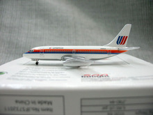 Genuine inflight500 1:500 United States joint aviation boeing 737-200 alloy aircraft model n9062u Rare collection model Only one