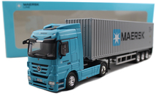 1:50 alloy container container truck MAERSK line shipping truck model Favorites Model