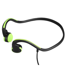 Bone Conduction Headsets Wired Earphone Outdoor Sports Headphones Noise Reduction Hands-free with Mic for Smart Phones Tablet