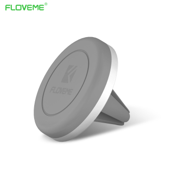 FLOVEME Luxo Phone Holder Stand 360 Ajustável Air Vent Monut GPS car mobile phone holder para iphone 7 5S 6 s plus samsung S7