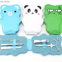 Beauty Girl Hot Professional 5pcs Cartoon Nail Clipper Stainless Steel Lovely Manicure Tools Nail Clipper Set Dec.8
