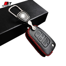 Car Styling Keychain For Buick Buick GL8/Lacrosse/Verano Car Key Ring Llaveros Leather Portachiavi Chaveiro For Buick Parts 2017