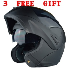 Free Shipping 10 Colors  Dual Visor Modular Flip Up helmet motorcycle helmet racing Motorcross helmet DOT approved Size M,L ,XL