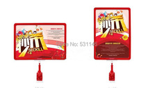 A4 поп-рекламный плакат Ценник Дисплей Рамка держатель для supmarket (Размеры: A4)(China)