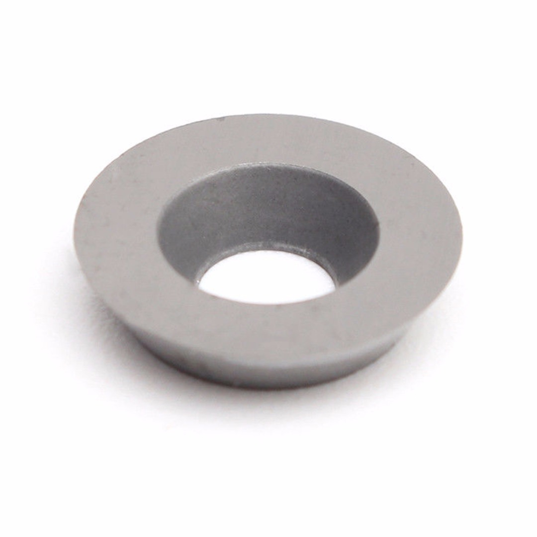 1pc 12mm Diam Tungsten Steel Blades Round Carbide Insert with Screw CNC Lathe Woodworking Turning Cutter for Processing Wood