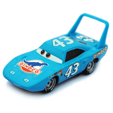 1pc Pixar Cars 2 No.43 Race Team Diecast Toy King Car 1:55 Scale Metal Alloy Toys For Children Gifts