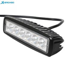 18W Flood LED Work Light ATV Off Road Light Lamp Fog Driving Light Bar For Offroad SUV Car Truck Trailer Tractor UTV Vehicle