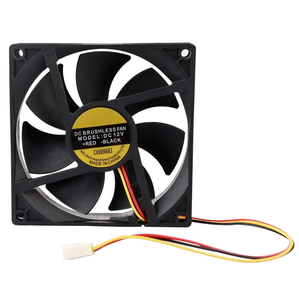 PC Case Cooling Fan 80//90//120mm DC 12V 3//4 Pins USB CPU Computer Cooler Fan Tool