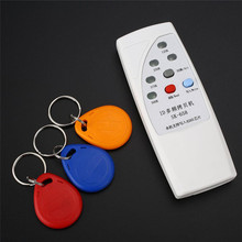 125KHz 250KHz 375KHz 500KHz RFID Handheld ID Door Access Card Copier Writer Duplicator Cloner With 3 Writable Cards