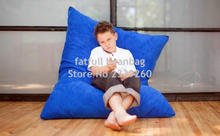 Cover only No Filler - Kids living room sofa bean bag chair, home furniture, Any where portable sofa sac - Great furnitures set(China)