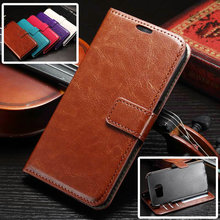 S7Case Luxury Retro Leather Wallet Flip Cover font b Case b font For font b Samsung