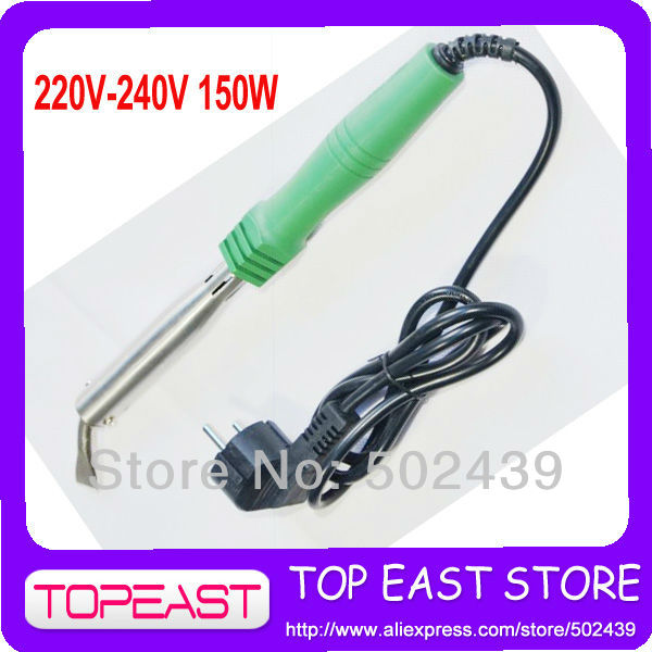 Free shipping  150w Popular Solder Tool  2 Round pin plug Europ plug Heat Soldering Iron 220V-240v - 150w High Quality<br><br>Aliexpress