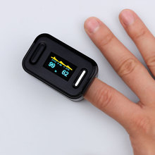 Health Care Automatic Digital Blood Pressure Monitor Finger Clip Tonometer Meter for Measuring And Pulse Rate