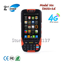 1D Wireless barcode scanner handheld terminal PDA for warehouse and supermarket Andorid 5.1 system  with 4G/gps Bt Wifi Camera