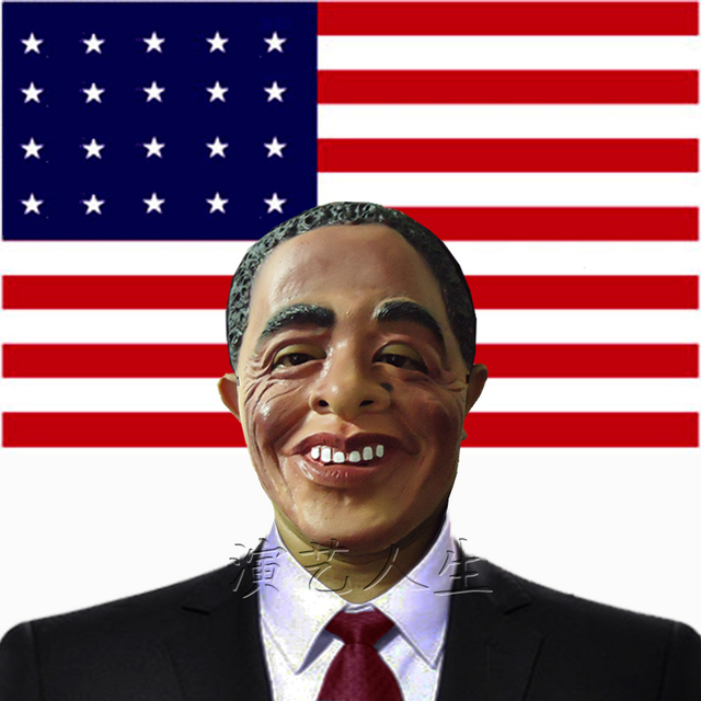 Latex mask President of the United States