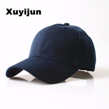Durable 2017 New Masculino SnapbackS Casquette Gorras  Blank Curved Solid Color Adjustable Baseball Cap Bone dad Caps