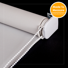 Top Quality Fire Retardant Sunscreen Roller Blinds 38mm alum tube Heavy Duty Customized Big Roller Blind for Window Treatment