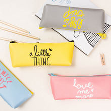 South Korea Stationery Color Memory Stationery Pencil Bag Pencil Pouch Children Pencilcase Cosmetic Bag School Tools Makeup Bag