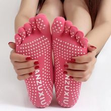 Best Sale Charm Women Socks Non-slip Massage Rubber Fitness Warm Socks Dance Comfort  Exercise Barefoot Feel One Size