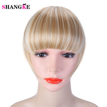Buy SHANGKE Short Synthetic Bangs Heat Resistant 9 Colors Available Hairpieces Hair Women Natural Short Fake Hair Bangs for $3.04 in AliExpress store