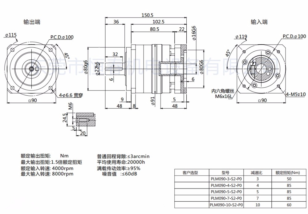 PLM090-L1-16