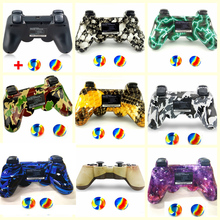 Perfect compatible with Original PS3 Controller Bluetooth Gamepad For Sony Playstation 3 Wireless Console with Rocker cap