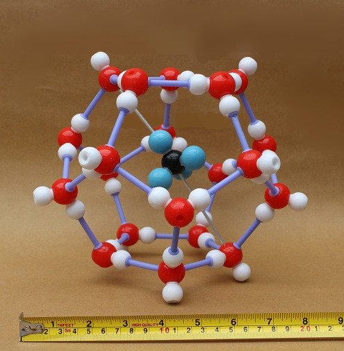 Combustible ice Chemical crystal structure model kit 23mm-17mm<br><br>Aliexpress