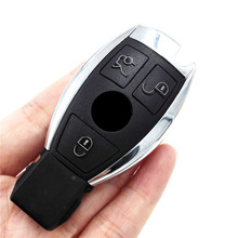 New 3 Button Smart Remote Car Key  with NEC Chip 433MHZ  (2005-2008) for Mercedes-Benz MB for All IR wipe equipment(with LOGO)