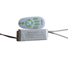 1X Wireless constant current cct & brightness adjustable led driver 220V input 40-54W with 2.4G RF touch remote controller