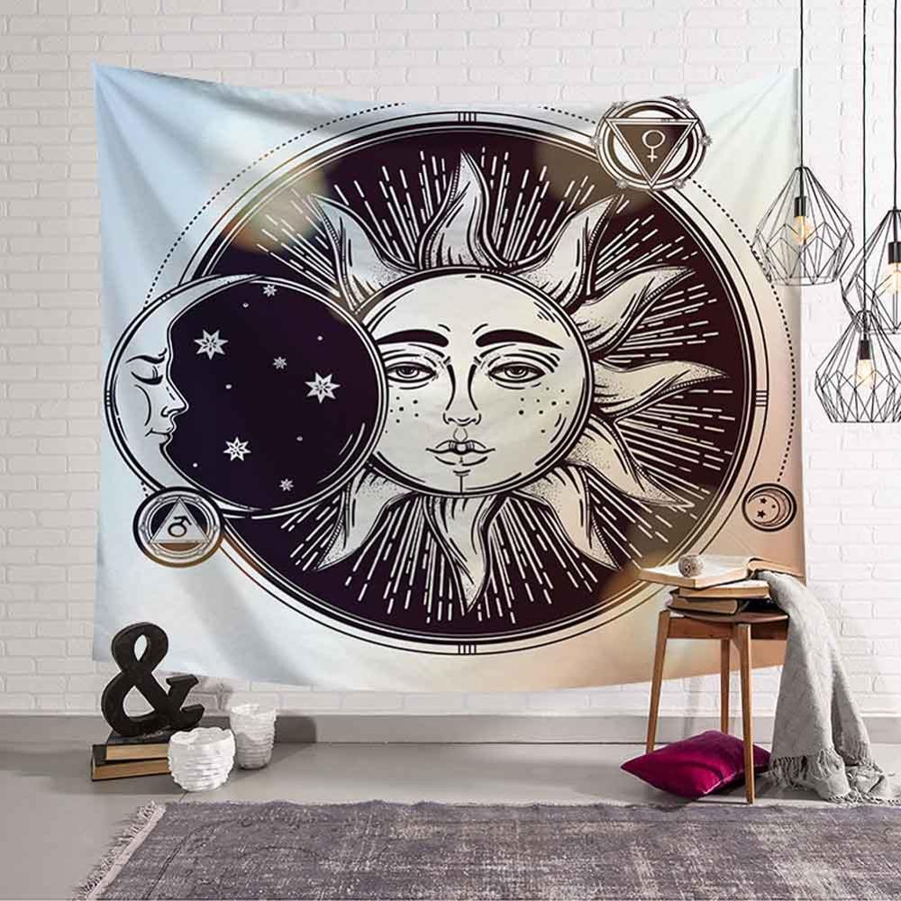 GT8076-2 Sun and Moon Tapestry